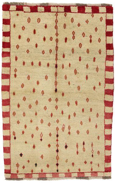 Gabbeh - Qashqai Tappeto Persiano 155x98