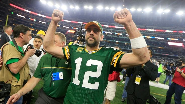 Last-second Rodgers pass to Cook in NFC Divisional playoff game up for Espy Awards Best Play