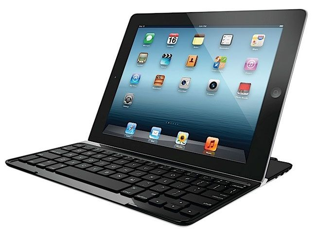 The best iPad cover, that also turns your iPad into a notebook.