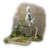 Bonaparte Skeleton Halloween toy knitting pattern by Georgina Manvell