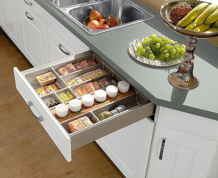 schubladensystem küche ? küchen kaufen billig - Schublade Küche