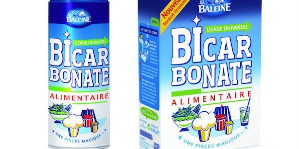 Voici un exemple de bicarbonate de soude alimentaire.