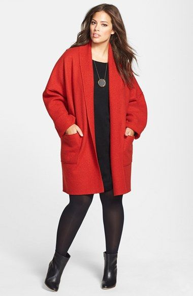 Eileen Fisher Kimono Coat & Tunic Dress (Plus Size)  available at #Nordstrom