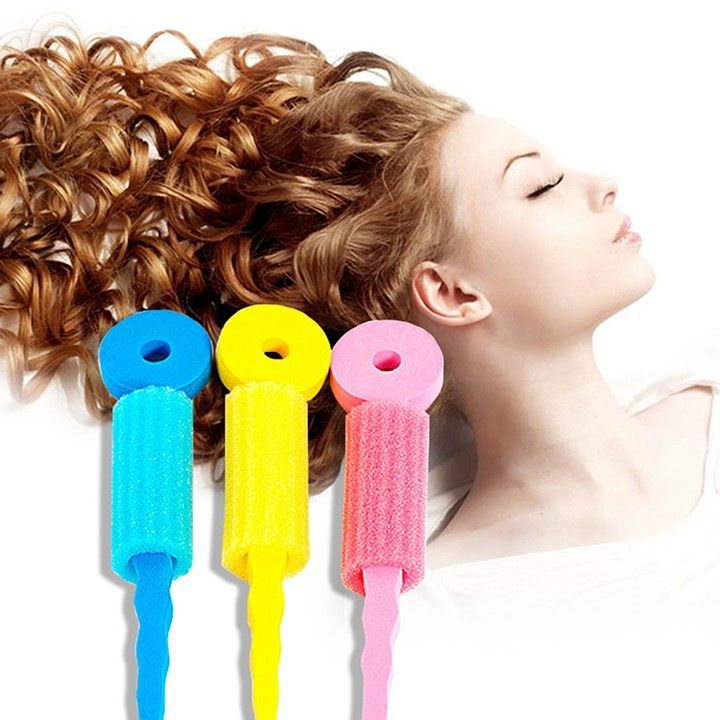 6 PCS Hair Care Foam Rollers Magic Sponge Soft Hair Curler Hair Styling Hair Roll Rollers DIY Tools for Women