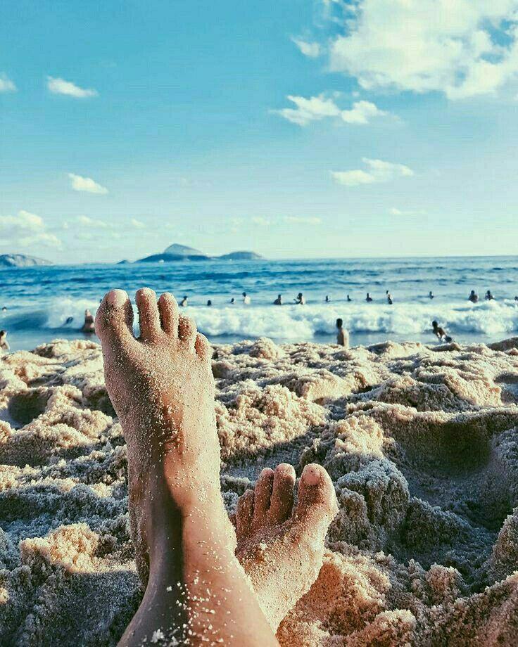 Картинки моря ног