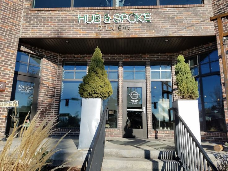 Hub and spoke diner restaurant salt lake city airbnb
