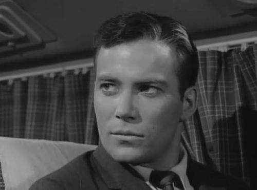 "✶A young William Shatner in Twilight Zone's ""Nightmare at 20000 Feet""✶"
