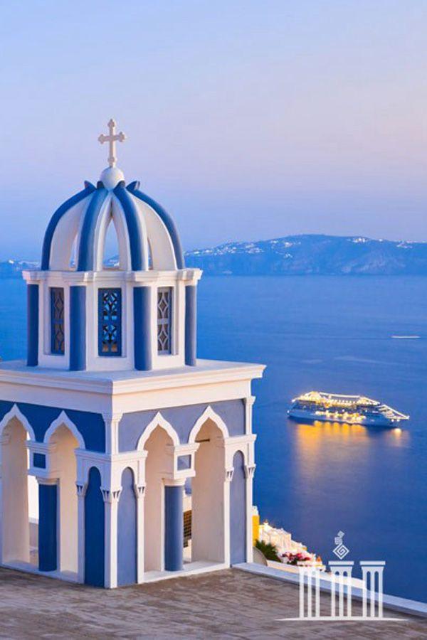 Caldera view - Firostefani, Santorini , Greece  ♥