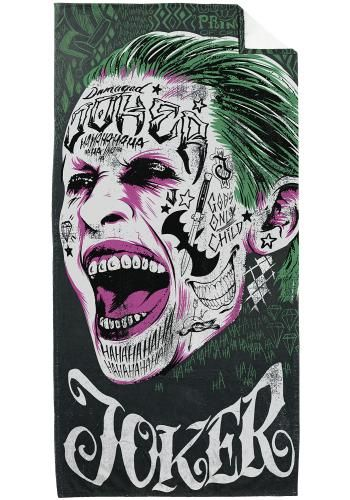 """Telo mare """"Joker"""" di #SuicideSquad. Dimensioni: 75 x 150 cm circa."""