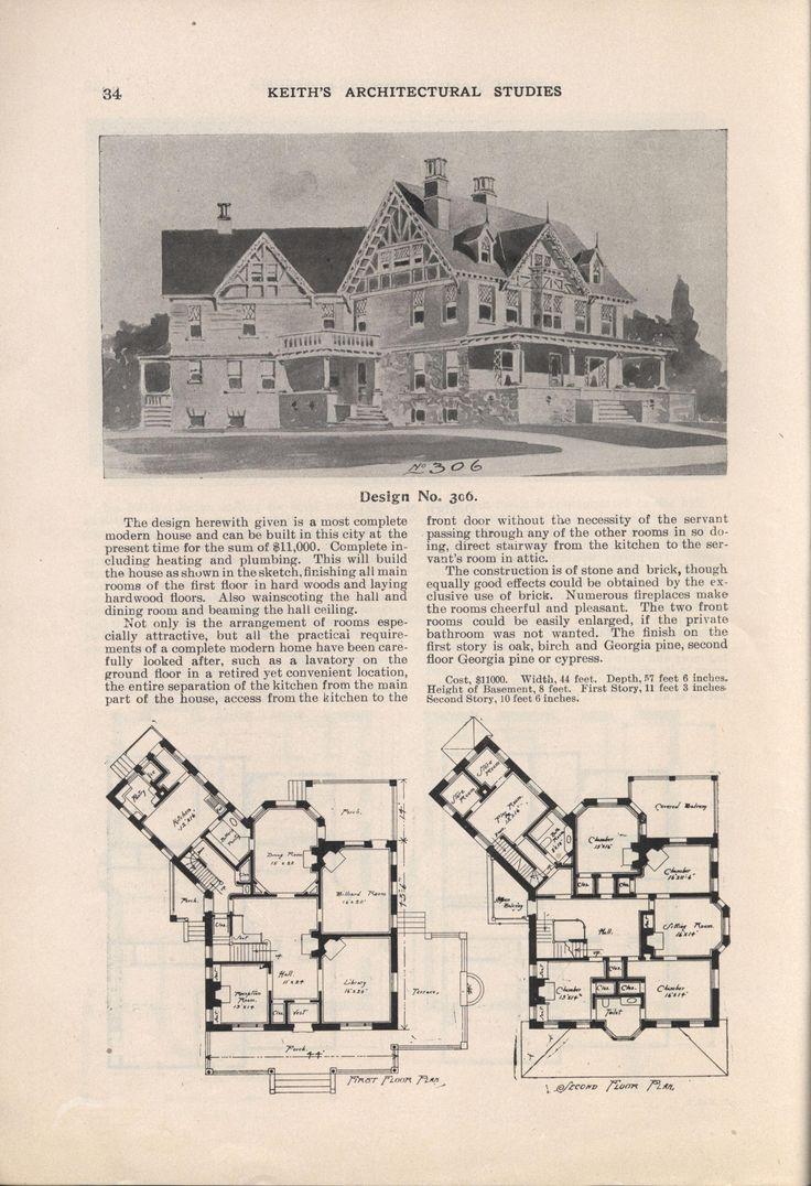 333 best old home plans images on pinterest vintage houses