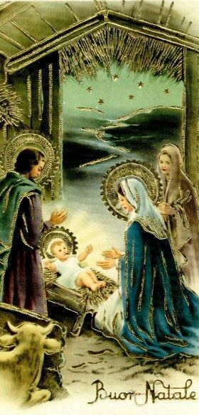 389 Best Vintage Religious Christmas Cards Images On