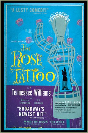 The Rose Tattoo play included Hotel Monteleone due to Tennessee Williams love for the hotel.