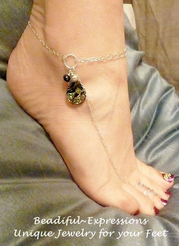Barefoot Sandal  Sterling Silver with by beadifulexpressions, $36.00