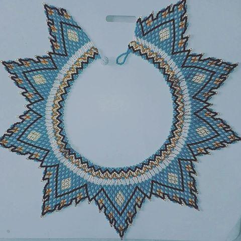 Collar. #embera #indigena #arte #colores #tradiccion