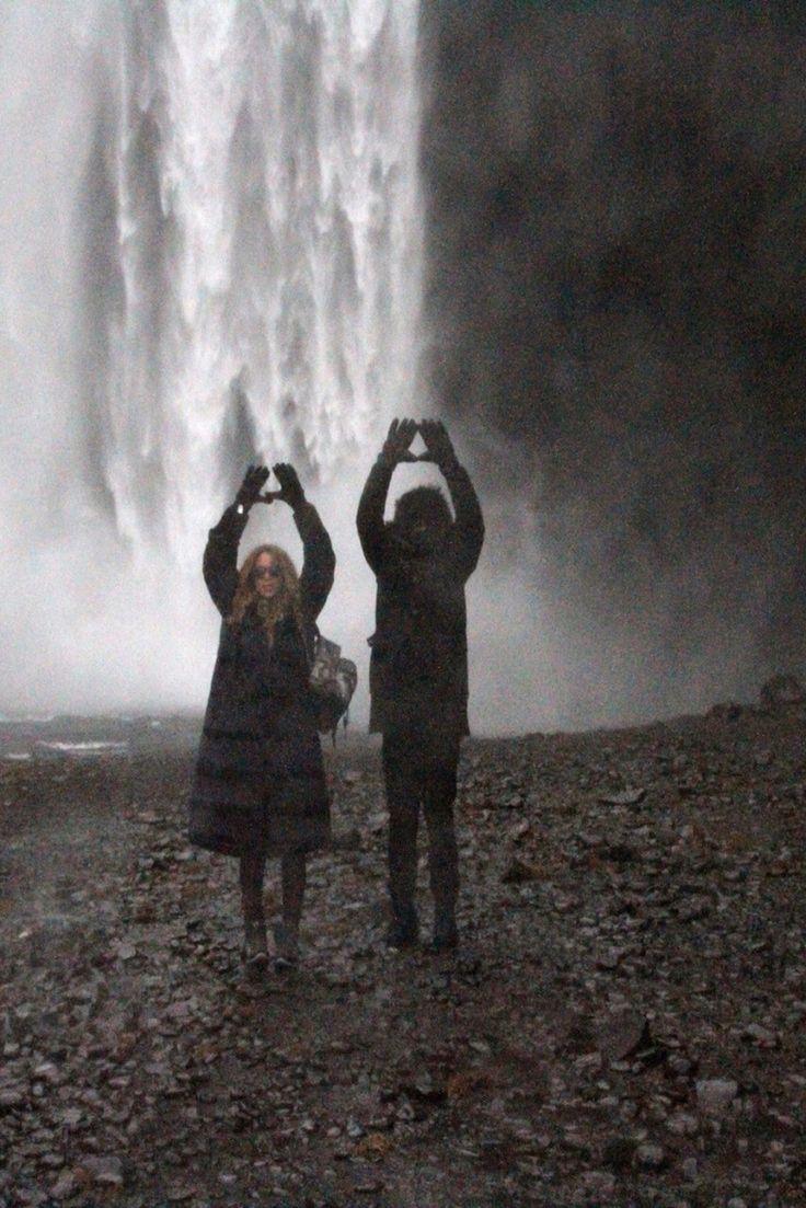 Beyoncè & Jayz in Iceland December 2014 Illuminati Symbolism!
