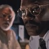 Still of Samuel L. Jackson and Richard Attenborough in Jurassic Park