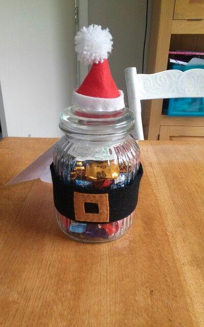 Christmas jars for teachers
