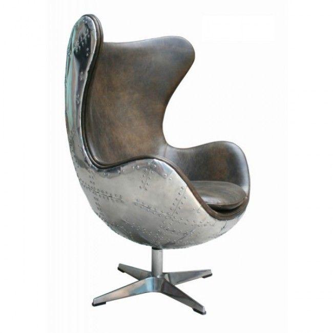 Дизайнерское кресло Egg Aviator