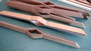 Fabriquer un grand sapin de noel avec carton de r cup - Fabriquer un sapin de noel en carton ...