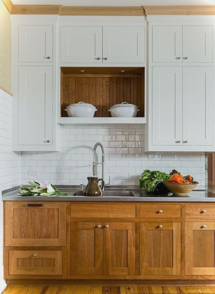 Pics Of Kitchen Cabinet Ideas Two Tone And Tip Top Cabinets