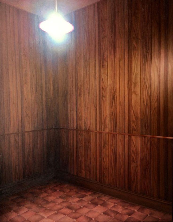 James Bonnici, The Veneer Room 67 x 71 cm, oil on linen