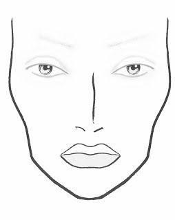 blank mac face chart pdf