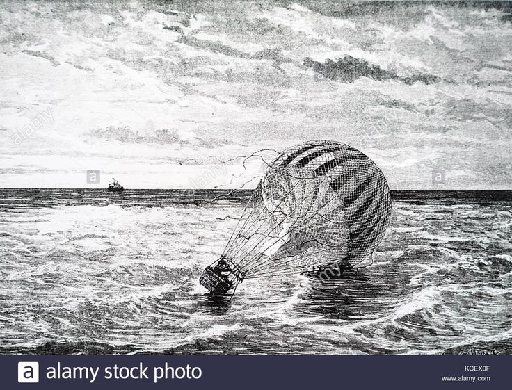 Download this stock image: Caricature of Jean-Pierre Blanchard's (1753-1809) a French inventor, balloon. Dated 20th Century - KCEX0F from Alamy's library of millions of high resolution stock photos, illustrations and vectors.