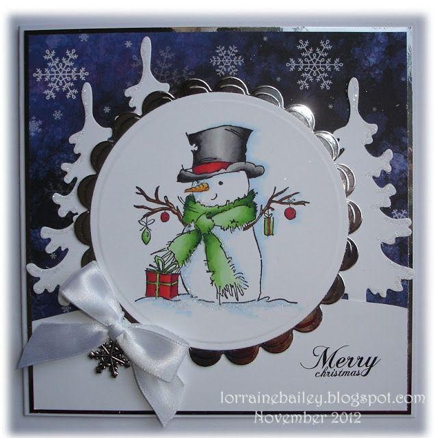 Mrs B's Blog: Mr Snowman