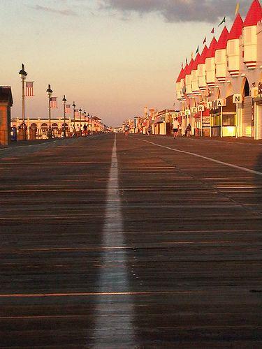 Boardwalk Ocean City, NJ. 6th Street at Wonderland.