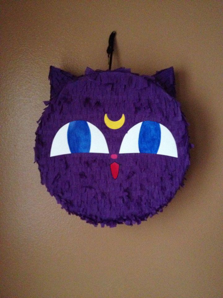 Sailor moon Luna P piñata