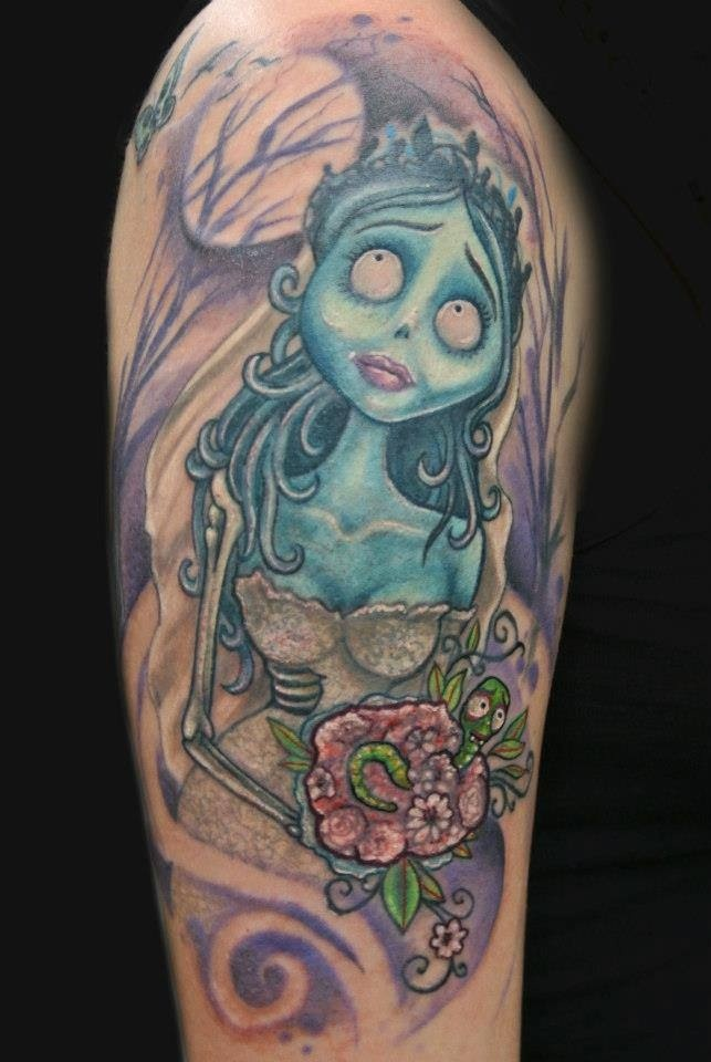 17 images about corpse bride tattoo on pinterest cartoon tattoos movie tattoos and tattoo. Black Bedroom Furniture Sets. Home Design Ideas