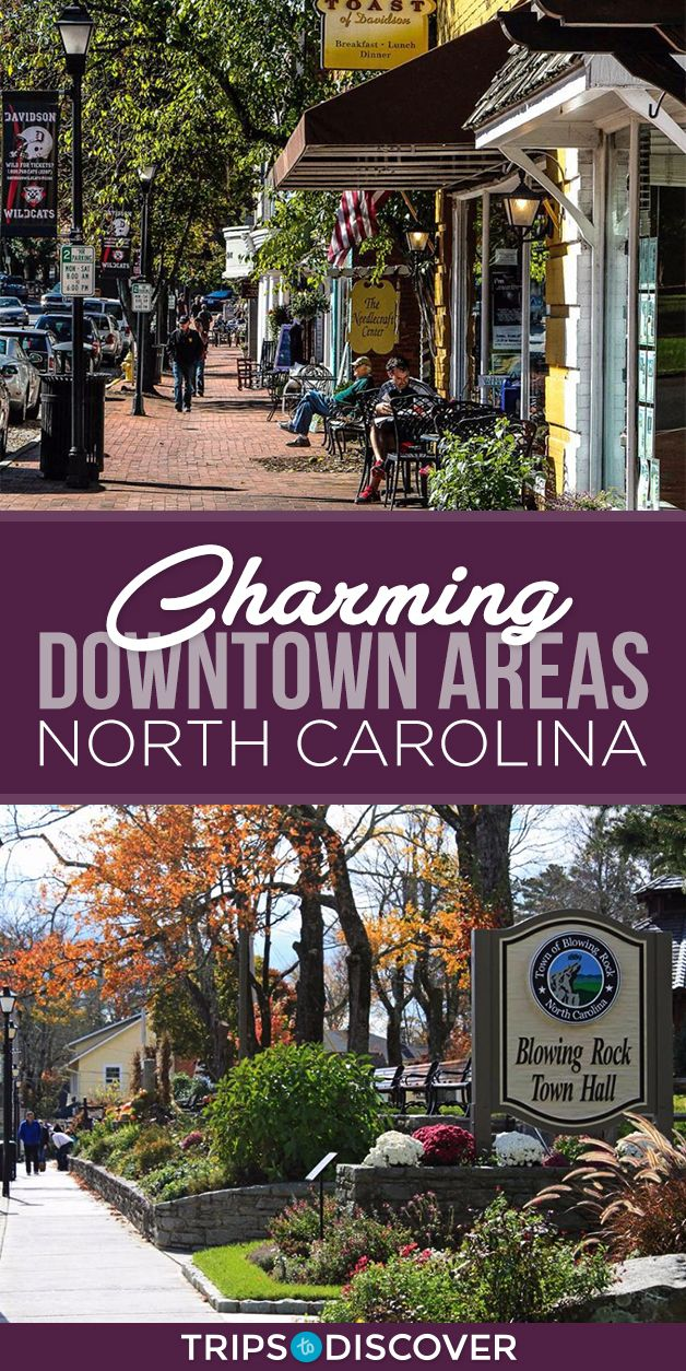 6 Most Charming Downtown Areas in North Carolina