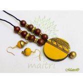 handmade-terracotta-jewelry-tsc221  Maitri Crafts www.maitricrafts.com https://www.facebook.com/maitricrafts.maitri