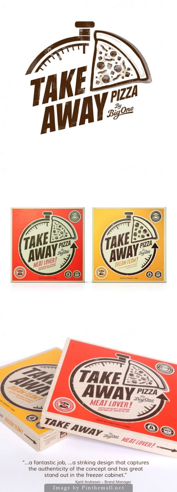 Take Away by Big One Creative agency: Illumination Type of work: Commercial work Country: London, UK