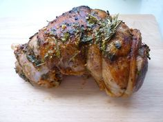 Epaule d'agneau -herbes- cuisson basse température