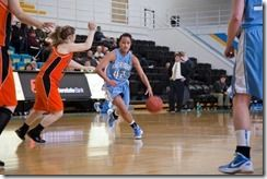 Meet pretty New Zealander Kayla Kiriau, she the pretty girlfriend of Oklahoma City Thunder's center Steven Adams. The couple have lots in common, both born and raised in Kiwiland and both not only passionate but with mad skills for the sport.