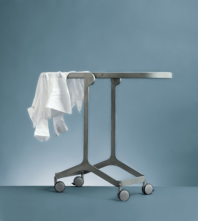 The aptly named Mirror/Ironing Board acts as a full-length mirror and also