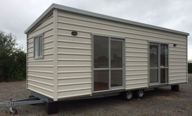 simple house on wheels leisure time caravans nz Portable Houses