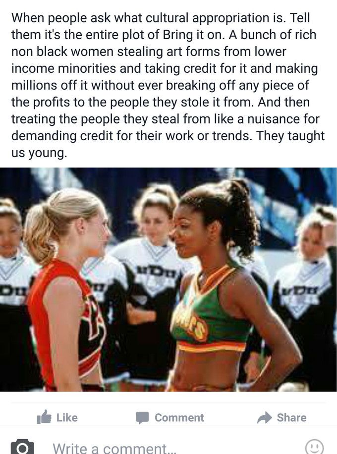Bring It On taught us about cultural appropriation