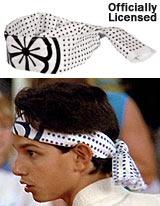 Karate Kid headband
