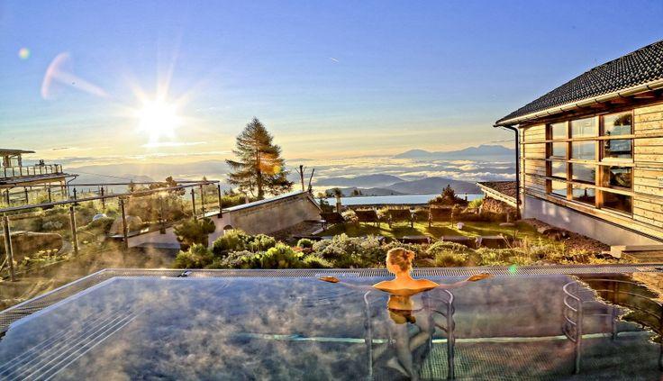 Premiumlage mit Panoramablick #leadingsparesort #feuerberg #mountain #resort #gerlitze #wellness #ski #wandern #urlaub #daheim #österreich