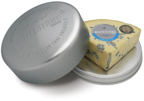 Whitestone Cheese — Cheese Tin with Windsor Blue Sponsor of my 2015 Fundraiser