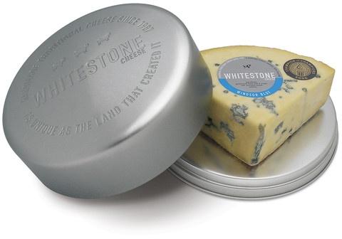 Whitestone Cheese — Cheese Tin with Windsor Blue
