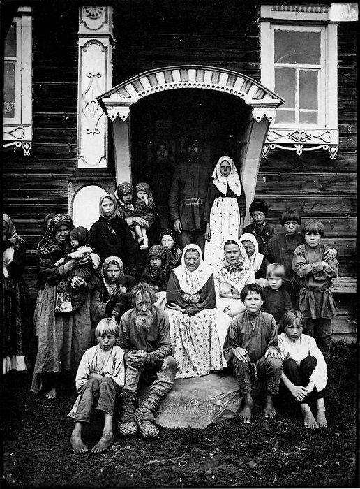 Деревня Кузнецово Семеновского уезда.