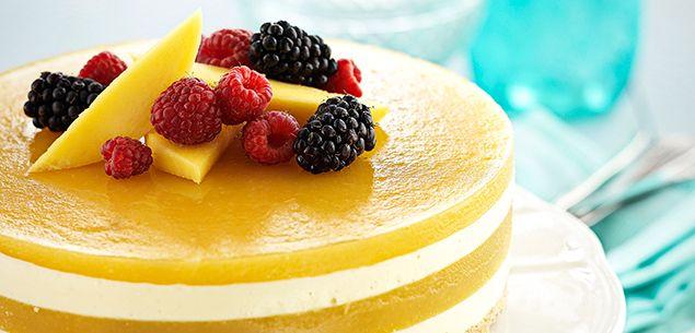 Mango jelly cheesecake recipe