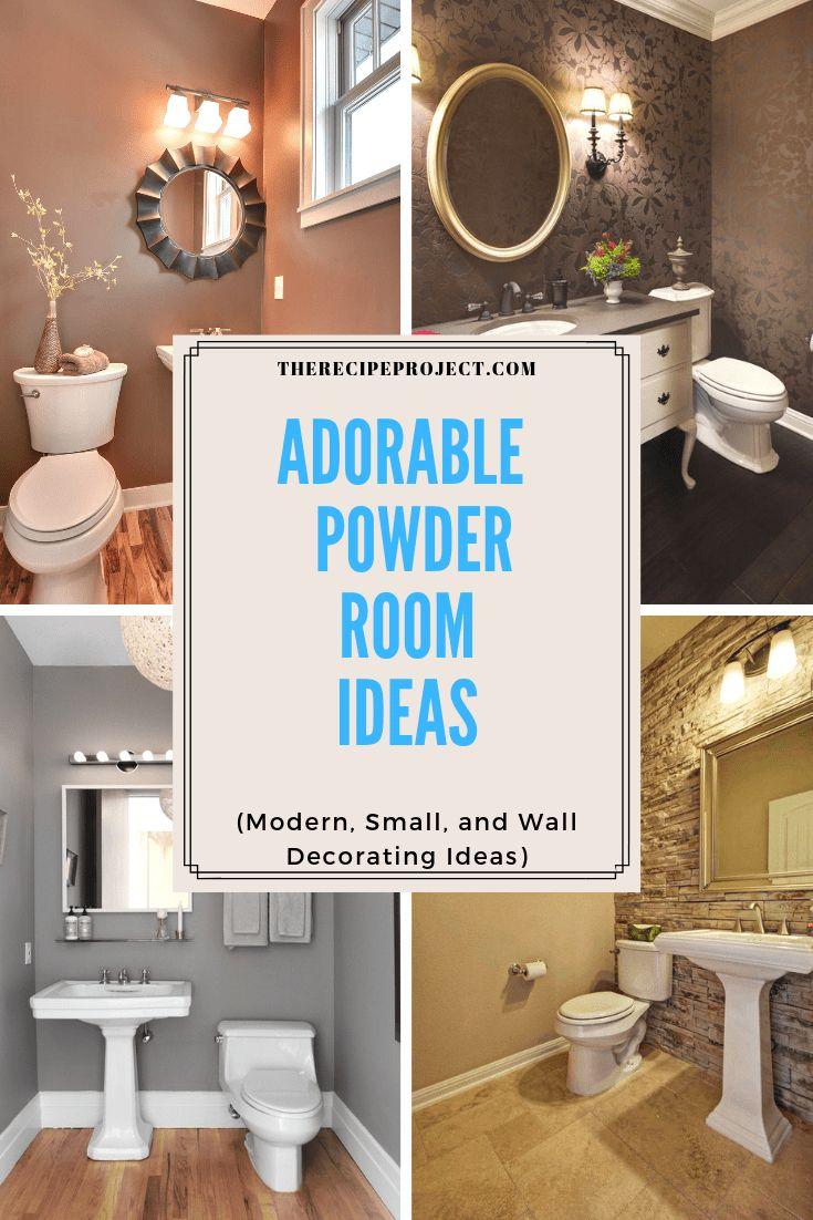 Elegant 20 Powder Room Designs Ideas In 2020 Powder Room Design