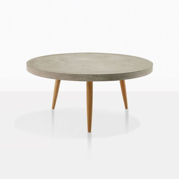 Aspen Coffee Table Straight Small Coffee Table Round Coffee