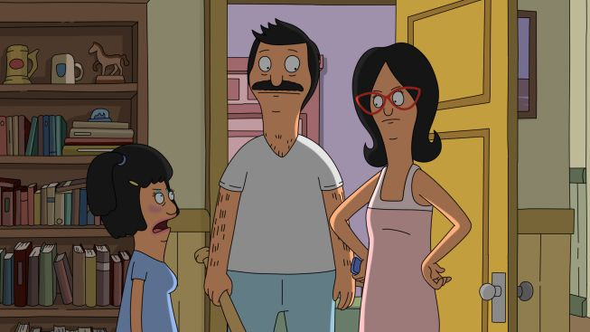 "Tina as ""mommy mummy"" in Full Bars Tina Belcher as she appeared in the Archer episode Fugues and Riffs Tina seeing Jonas flip his hair Baby Tina Tina as Mona in Sliding Bobs"