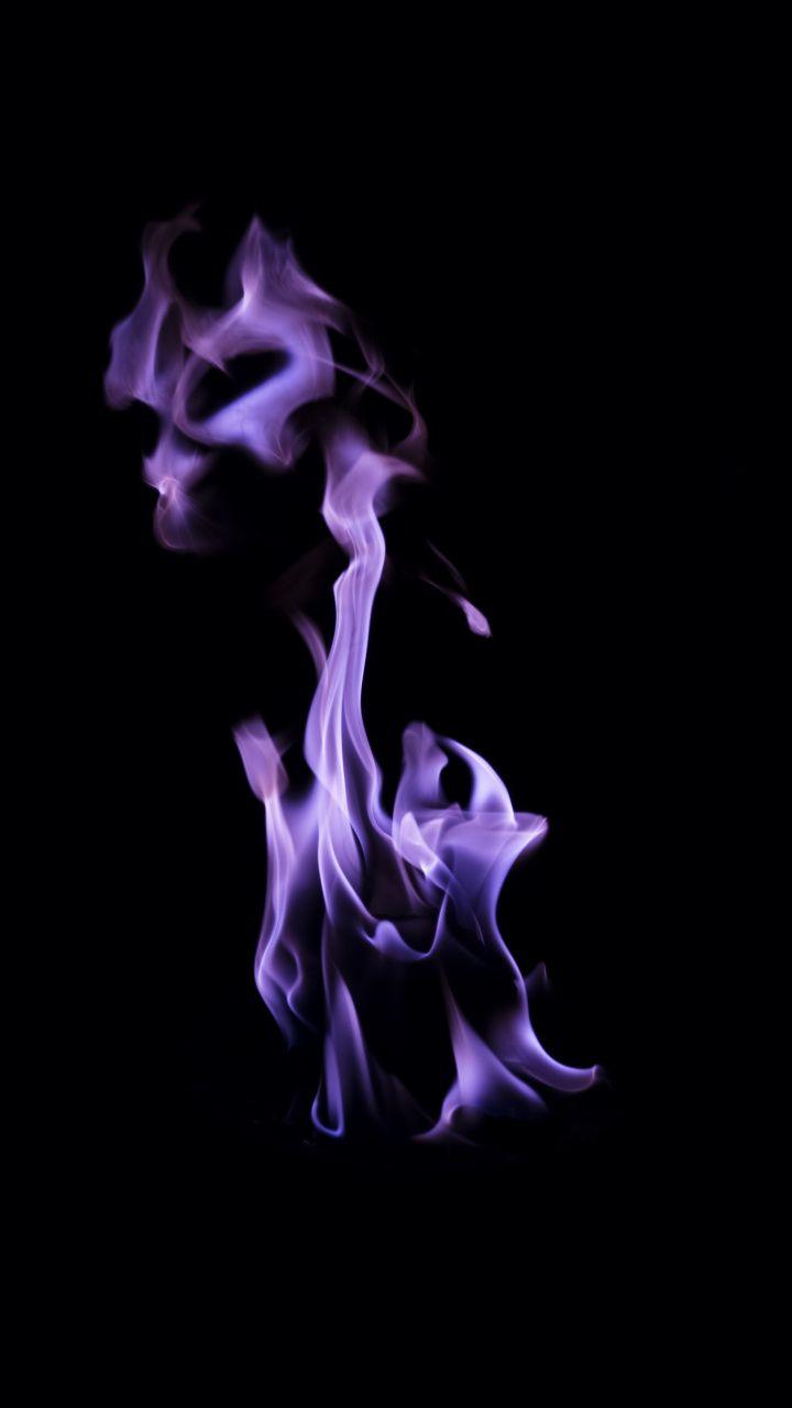 720x1280 Fire Flame Purple Dark Wallpaper Dark Wallpaper Dark Purple Aesthetic Dark Purple Wallpaper