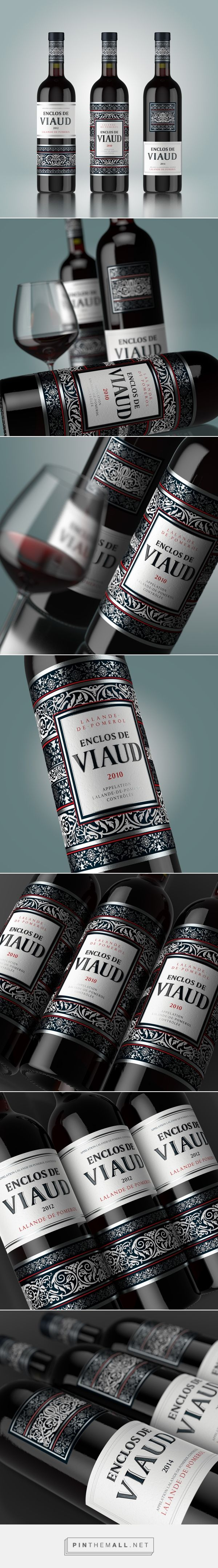 ENCLOS DE VIAUD Wine Packaging by Shumi Love Design | Fivestar Branding Agency – Design and Branding Agency & Curated Inspiration Gallery